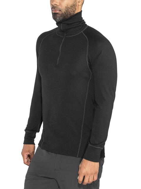 Devold Duo Active Zip Neck Shirt Men Black